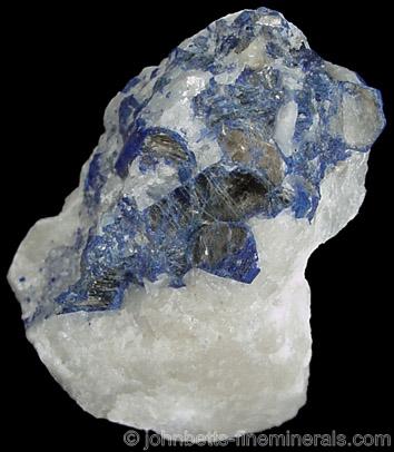Lazurite Pseudomorph after Mica