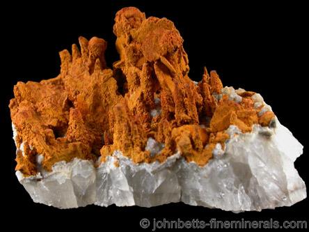 Limonite pseudomorphs after Marcasite