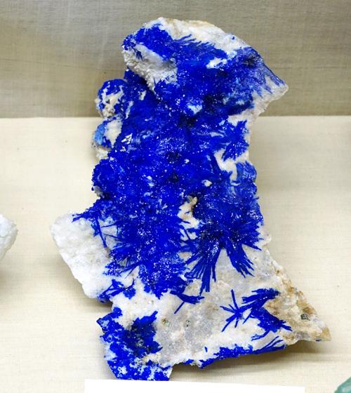 Electric Blue Linarite Sprays