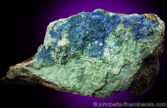 Linarite and Caledonite