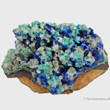 Linarite and Cerussite with Caledonite