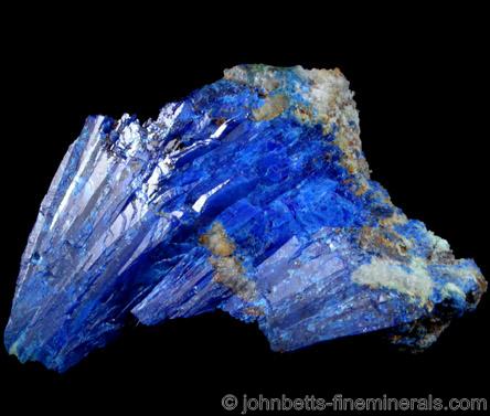 Radiating Linarite Crystals