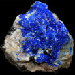 Linarite with Galena