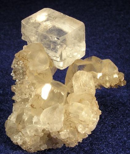 Well-Formed, Gemmy Magnesite Rhomb