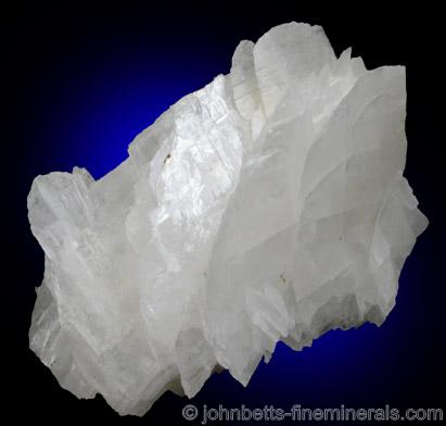 White Magnesite Crystals