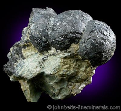 Spherical Magnetite Crystal Aggregates
