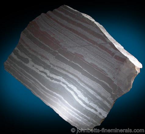 Banded Magnetite Taconite Formation