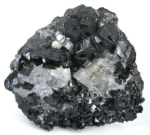 Large Group of Cubic Magnetites