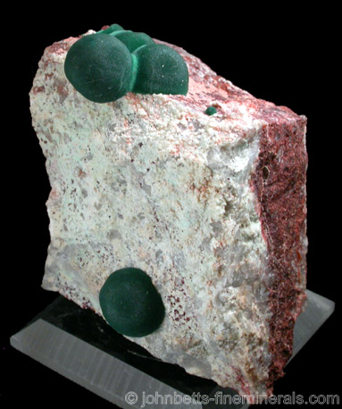 Malachite Blobs from Morenci Mine, Northwest Extension, Greenlee County, Arizona