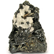 Manganite with Barite