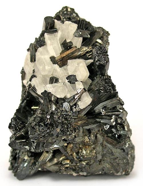 Manganite with Barite