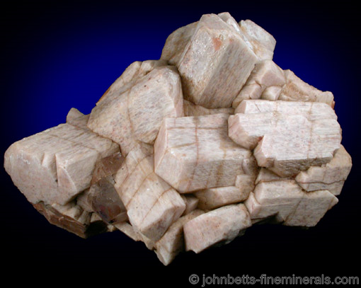 White Microcline Crystal Group