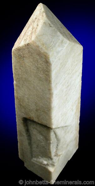 Twinned Microcline Crystal