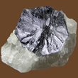 Bright Molybdenite Crystal