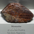 Large Monazite Crystal