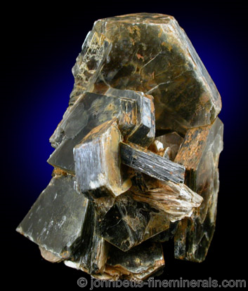 Hexagonally Shaped Muscovite Crystal