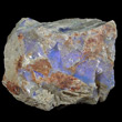 Blue Opal on Matrix