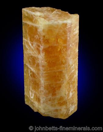Single Golden Beryl Crystal