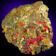 Bright Yellow Orpiment With Realgar