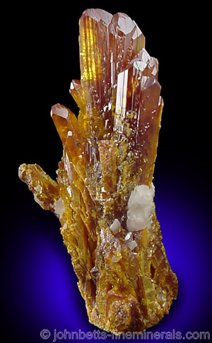 Prismatic Gemmy Orpiment Crystals