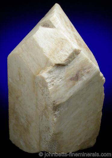 Microcline Baveno Twin from Little Tree Mine, Ramona District, San Diego County, California.