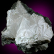 White Pectolite Mass