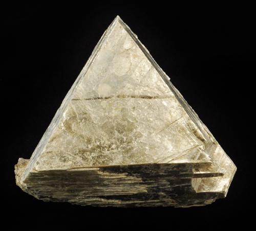 Triangular Phlogopite Crystal