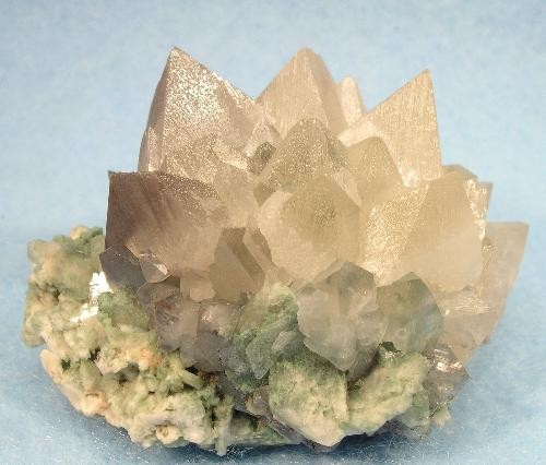 Powellite Crystal Cluster