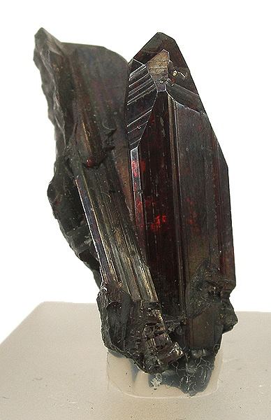 Prismatic Terminated Proustite Crystal