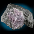 Purple Anhydrite on Matrix