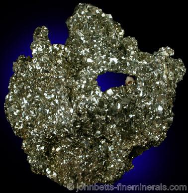 Lustrous Drusy Pyrite