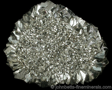 Round Floater Pyrite