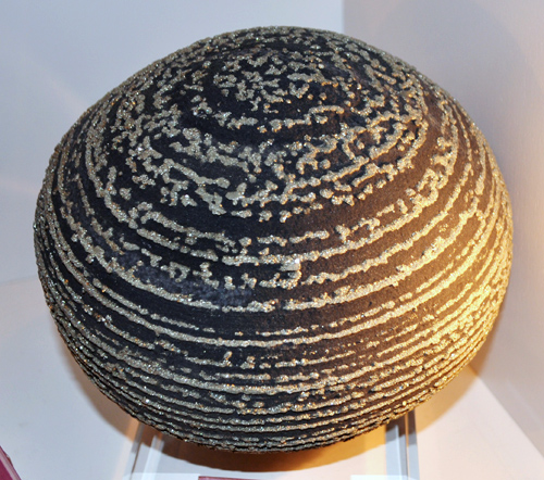 Pyrite Sphere on Shale