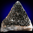 Bladed Black Pyrolusite Crystals