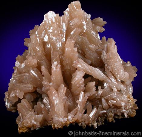 Elongated Pyromorphite Cluster