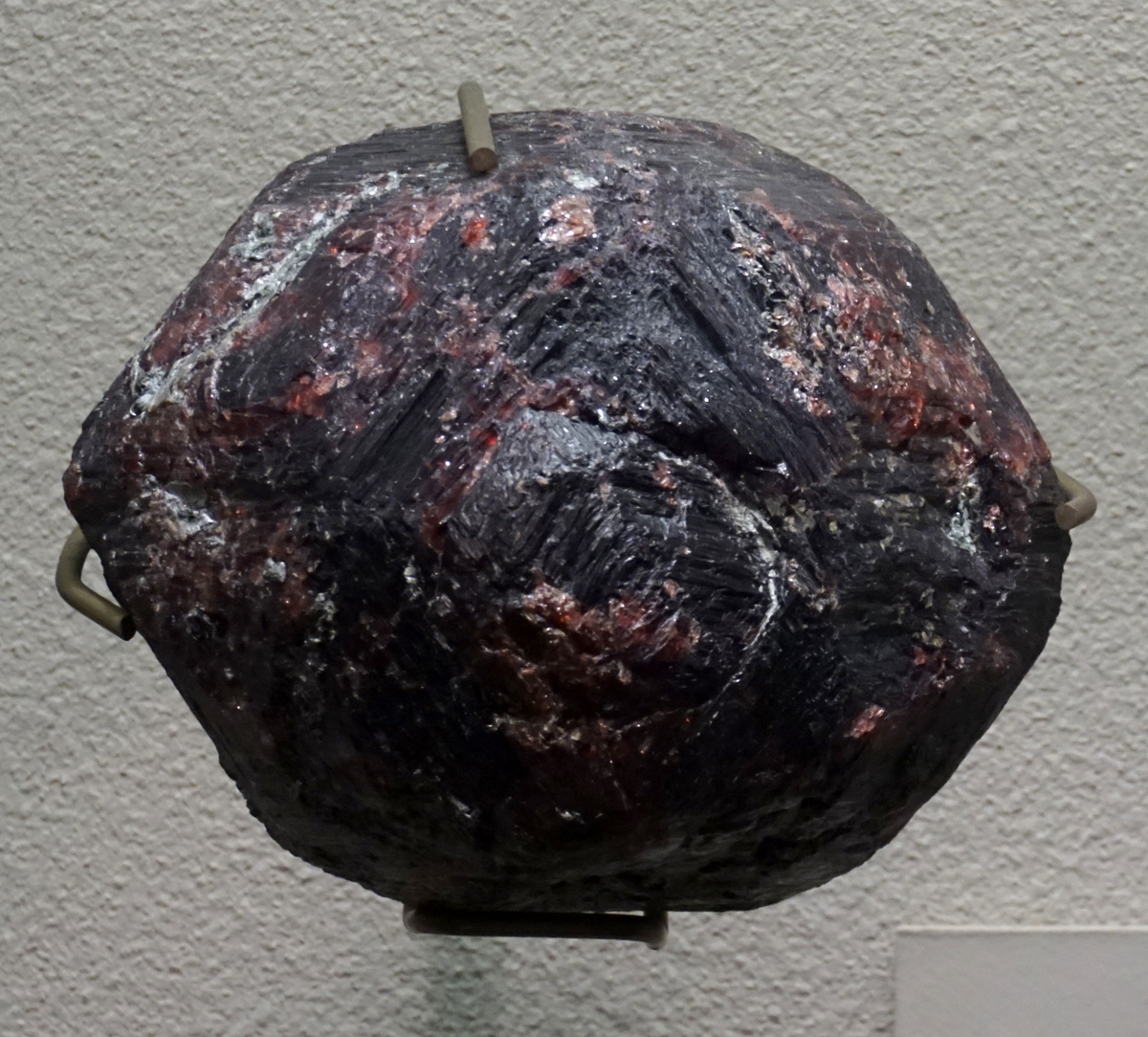 Large Pyrope Crystal