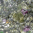 Pyrope in Kimberlite with Olivine