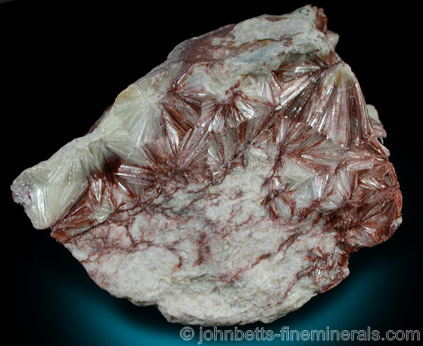 Pyrophyllite with Brownish-Red