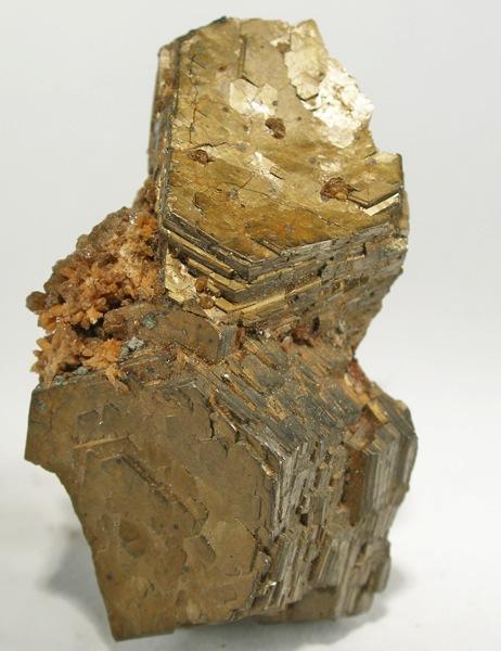 Intergrown Bronze Pyrrhotite Crystals