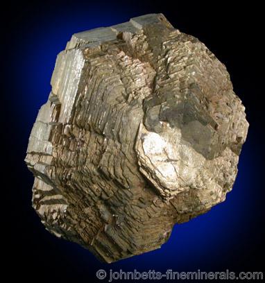 Compound Crystal of Bronze Pyrrhotite