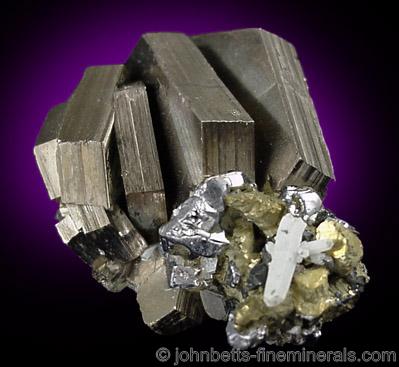 Thick Tabular Pyrrhotite Crystals