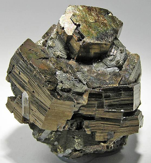 Complex Pyrrhotite Crystal Cluster
