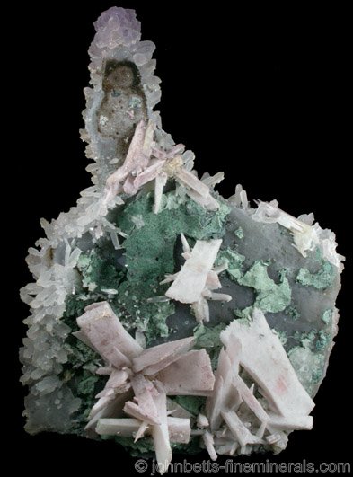 Quartz Pseudomorphs after Anhydrite