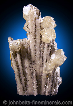 Quartz Pseudomorph after Anhydrite