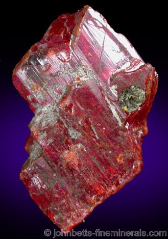 Realgar Crystal Fragment