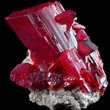 Outstanding Gemmy Realgar Crystal