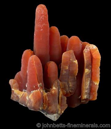 Red Chalcedony Stalactites