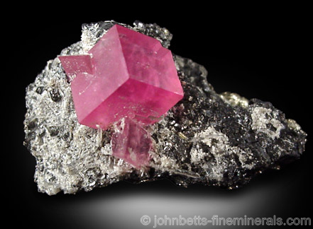 Deep Pink Rhodochrosite Rhomb