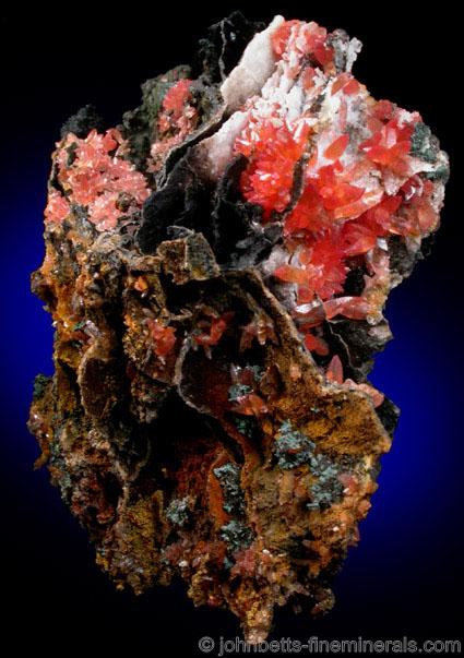 Rhodochrosite from the Wolf Mine