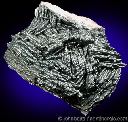 Romanechite Coating Barite